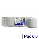 Wypall L20 Wipers Centrefeed Roll White Pack 6 Toilet Paper Rolls Ref 7268