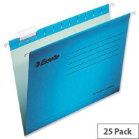 Esselte Pendaflex Economy Suspension File A4 Blue Pk 25