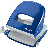 Leitz NeXXt Series Metal Hole Punch 30 Sheet  Blue