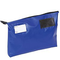 Blue A3 Gusset Mail Pouch 470mm x 336mm x 76mm