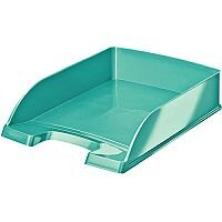 Leitz WOW  A4  Letter Tray  Ice Blue