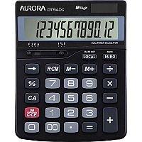 Aurora DT940C Semi Desk Calculator 12 Digit LCD Display