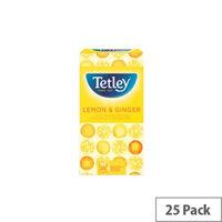Tetley Lemon And Ginger Tea Bags (Pack of 25) 1571A