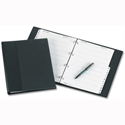 Telephone Address Book Binder A4 Black A-Z Index and 20 Sheets Concord CD1