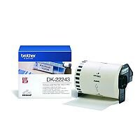 Brother P-touch DK-22243 102mm x 30.48m Continuous Paper Label Tape