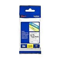 Brother P-touch TZe-M31 12mm x 8m Black On Clear Laminated Labelling Tape