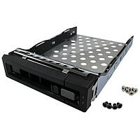 QNAP Rackmount Model Hard Drive Tray for TS Series NAS Servers 2.5/3.5 inch Hard Disk Drives (Black)