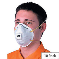 3M 8812 Respirator Mask Valved FFP1 Pack 10