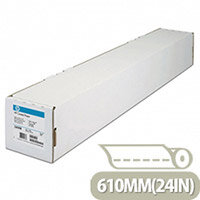 HP 610mm x 45m Coated Plotter Paper Roll 98gsm