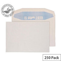Purely Environmental Mailer Gummed White 100gsm C4 229x324mm (Pack of 250)