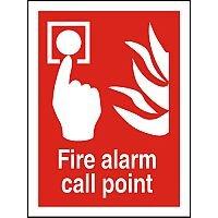 Photolum Fire Sign 200x300 Fire Alarm Call Point Ref Self Adhesive Vinyl