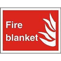 Photolum Fire Fighting Sign 200x300 Fire Blanket Self Adhesive Vinyl