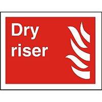 Photolum Fire Fighting Sign 200x300 1mm Plastic Dry Riser