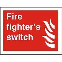 Photolum Fire Sign 200x300 1mm Fire Fighter's Switch