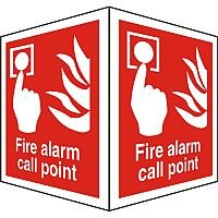 Protruding Sign 2 Faces 150x200 Each Fire Alarm Call Point