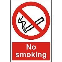 Stewart Superior Warehouse Signs 600x400 1mm Semi Rigid Plastic - No smoking