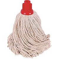 Robert Scott & Sons Socket Mop Head for Smooth Surfaces PY 16oz Red Ref PJYR1610 [Pack 10]
