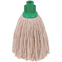 Robert Scott & Sons Socket Mop Head Twine for Rough Surfaces 12oz Green [Pack 10]
