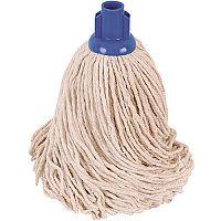 Robert Scott & Sons Socket Mop Head for Smooth Surfaces PY 16oz Blue Ref PJYB1610 [Pack 10]
