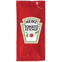 Heinz Tomato Ketchup Sachets Single Portion Pack of 200