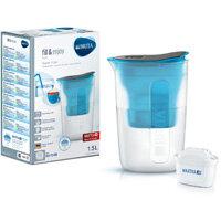 Brita Fill&Enjoy Fun 1.5 Litre Water Filter Jug MAXTRA+ Filter Blue