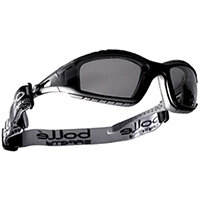 Bolle Tracker TRACPSF Safety Glasses Smoke with Platinum Coating Ref BOTRACPSF