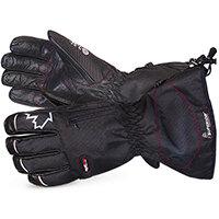 Superior Glove Snowforce Buffalo Leather Palm Winter Glove L Black Ref SUSNOW385L