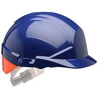 Centurion Reflex Safety Helmet Blue with Orange Rear Flash Blue Ref CNS12BHVOA