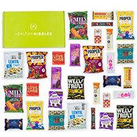 Healthy Nibbles Gluten Free 60 Piece Office Box Ref Gluten60
