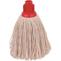 Robert Scott & Sons Socket Mop Head Twine for Rough Surfaces 12oz Red [Pack 10]