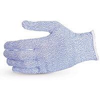 Superior Glove Sure Knit Cut-Resistant Food Industry Glove XL Blue Ref SUS10SXBXL