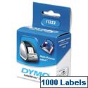 Dymo 11353 Labels Multipurpose 24x12mm Pack 1000