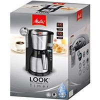 Melitta Therm Timer Coffee Machine Black/Stainless Steel Ref 6764395