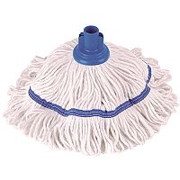 Robert Scott & Sons Hygiemix T1 Socket Mop Cotton & Synthetic Yarn Colour-coded 250g Blue Ref YLTB250