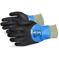 Superior Glove Emerald Cx Liquid Proof Kevlar/WireCore 9 Black Ref SUSCXPNTFC09