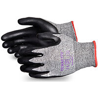 Superior Glove Tenactiv Cut-Resist Composite Knit Nitrile 11 Black Ref SUSTAFGFNT11