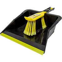 Bentley Bulldozer Dustpan & Brush Set Ref 518014