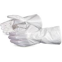 Superior Glove Ground Hog Electro-Static Spray Painting Gloves L White SU1401L2GH