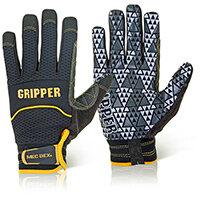 Mecdex Rough Gripper Mechanics Glove S Ref MECPR-741S