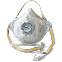 Moldex FFP3V Half Mask RD Valve White Ref M3405 Pack of 5