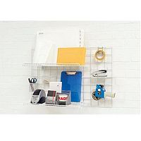 Wall-Store Frame Multifunctional with Hooks and Trays 2 Shelves 600x1000mm