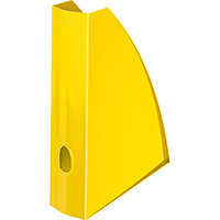 Leitz WOW Magazine File A4 Yellow Pack of 6 Ref 52771016