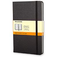 Moleskine Pocket Ruled Hardcover A6 192Pg Black Ref MM710