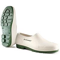 Dunlop Wellie Shoe Size 10.5 White Ref WG10.5