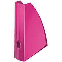 Leitz WOW Magazine File A4 Metallic Pink Pack of 6 Ref 52771023
