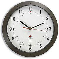 Easytime DarkGrey Round Wall Clock Quartz Diameter 320mm