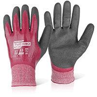 Wonder Grip WG-718 Dexcut Nitrile Coated Glove Large Grey Ref WG718L