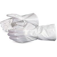 Superior Glove Ground Hog Electro-Static Spray Painting Gloves S White SU1401S2GH