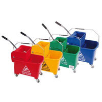 Robert Scott and Sons Microspeedy 20L Bucket and Wringer Red
