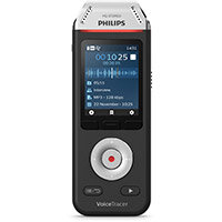 Philips DVT2110 VoiceTracer Recorder Colour Display 8GB USB-C Connection Ref DVT2110/00